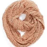 David & Young Chunky Open Weave Infinity Scarf (Juniors) | Nordstrom