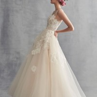 Ines by Ines Di Santo Peony Embroidered Tulle Ballgown (In Selected Stores Only) | Nordstrom