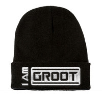 I Am Groot Beanie ( Guardians of the Galaxy Beanie )