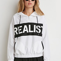 Realist Graphic Hooded Windbreaker
