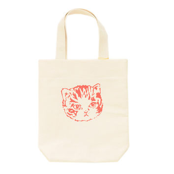 Kids Canvas Kitty Tote