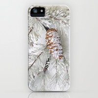 pine cone iPhone & iPod Case by Sylvia Cook Photography