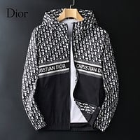 Dior Men Fashion Casual Top Outerwear