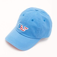 Flag Whale Patch Twill Hat