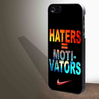 Nike Haters Motivation Nebula Galaxy for iphone 4/4s/5/5s/5c/6/6+, Samsung S3/S4/S5/S6, iPad 2/3/4/Air/Mini, iPod 4/5, Samsung Note 3/4 Case **