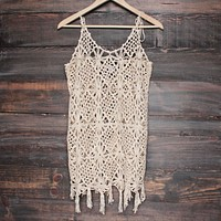Final Sale - Barcelona Crochet Cover-Up