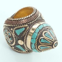 Constantinople Cocktail Ring | MessesOfDresses.com