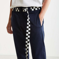 UO Checkered Extra Long Web Belt | Urban Outfitters