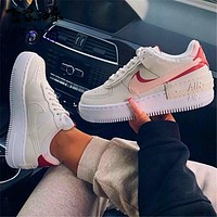 Air Force 1 Nike Low-Top Joker Flat Sneakers Shoes Rose edge