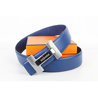 Hermes belt men's and women's casual casual style H letter fashion belt530