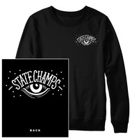 Eye Black Crewneck : PNE0 : MerchNOW - Your Favorite Band Merch, Music and More