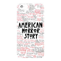 American Horror Story Quotes For iPhone 5 / 5S / 5C Case