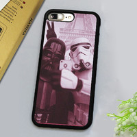 Funny Star Wars Darth Vader Selfie Printed Luxury Mobile Phone Cases For iPhone 7 7 Plus 4.7 5.5 inch Soft Rubber Back Cover