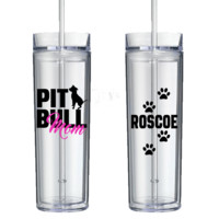 Pit Bull Parents Double Wall Tumbler - Perfect Gift - Free Shipping