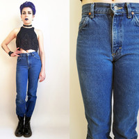 Mom Jeans 80s Lee Jeans 80s Clothes 80s Clothing Vintage 1980s Denim Lee Jeans High Rise Mom Jeans Medium Wash Denim 26 Waist Made in USA