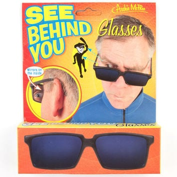 See Behind You Glasses Black One Size For Men 24569810001
