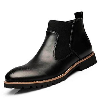 New Men's Chelsea Ankle Boots