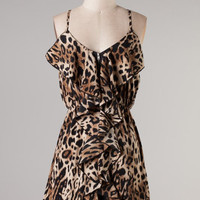 Sassy Little Leopard Dress
