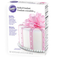 Rolled Fondant - White: 24-Ounce Package