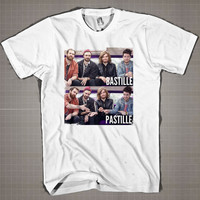 Bastille-Pastille  Mens and Women T-Shirt Available Color Black And White