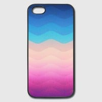Pride Rainbow Wave (Colorful Geometric) Phone Case iPhone Case | Spreadshirt