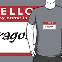 Hello, My Name is Dragon by downwithzyteth