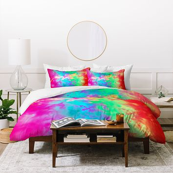 Caleb Troy Painted Clouds Vapors II Duvet Cover