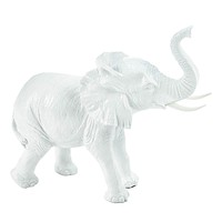Textured White Elephant