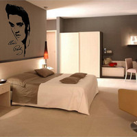 Elvis Presley vinyl wall art decal