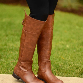 The Rider Boots - Tan