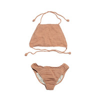 Self-Tie Bikini Set (Orange) | STYLENANDA