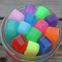 Rainbow Glycerin Soap - Soap Sticks - Kids Soap - Best Friends Gift - Individual Soap - Soap Sample - Lathering Soap - Soap Favors - Mum