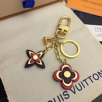 Louis Vuitton Lv Blooming Flowers Bag Charm And Key Holder M63084 - Best Online Sale