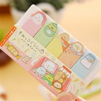 Cute Sumikko Gurashi Adhesive Memo Pads Sticky Notes DIY Decorative Stickers Student Stationery School Office Supply