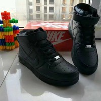 nike air force 1 unisex sport casual high help shoes sneakers couple plate shoes-2