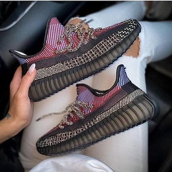 """Adidas Yeezy Boost V2 350 """"Yecheil"""" Casual Men's and Women's Sports Running Shoes"""