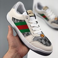 Gucci new men and women casual all-match sports shoes