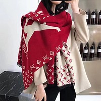 Perfect Women Wool Scarf Shawl Scarf