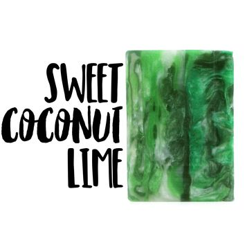 Sweet Lime Coconut / Glycerin Soap