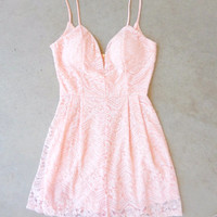 Pink June Lace Romper [7234] - $38.00 : Feminine, Bohemian, & Vintage Inspired Clothing at Affordable Prices, deloom