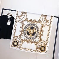 VERSACE Popular Woman Silk Sunscreen Cape Scarf Scarves Shawl Accessories
