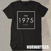 The 1975 Shirt The 1975 square Symbol Black and White t - Shirt  For Men Or Women Size TS01