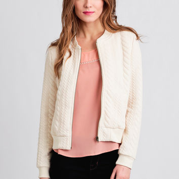 See You There Quilted Jacket By Tulle