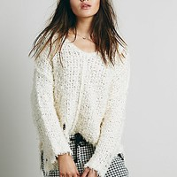 Free People Womens Up the Ladder Pullover