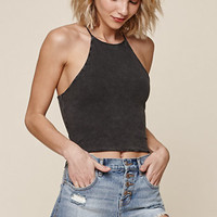 Me To We Simplicity Cropped Racerback Tank Top at PacSun.com