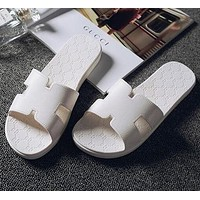 mieniwe? Hermes Women Casual Fashion Sandal Slipper Shoes