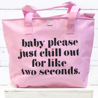 Super Chill Cooler Bag {Baby, Please}