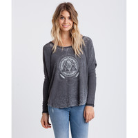 Billabong Women's Rather Be Raglan Top