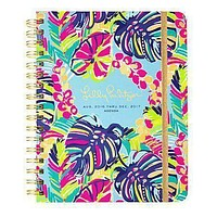 17 Month Large 2017 Agenda in Exotic Garden by Lilly Pulitzer