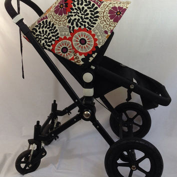 Sample Sale! Floral Replacement Canopy or Hood for Bugaboo Cameleon or Cameleon3. 25% off